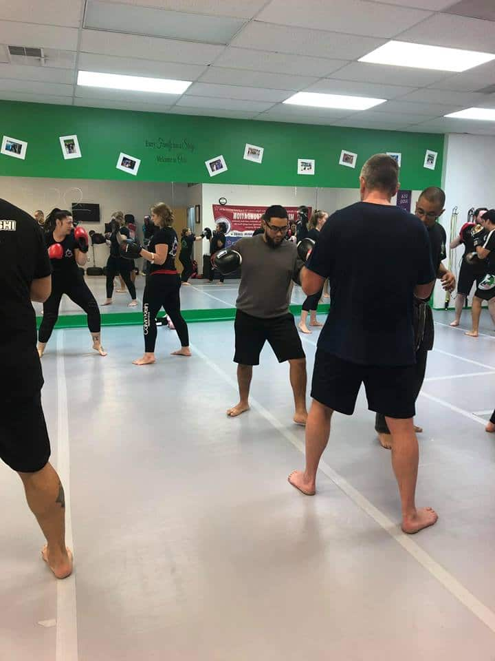 Affinity Kickboxing Class